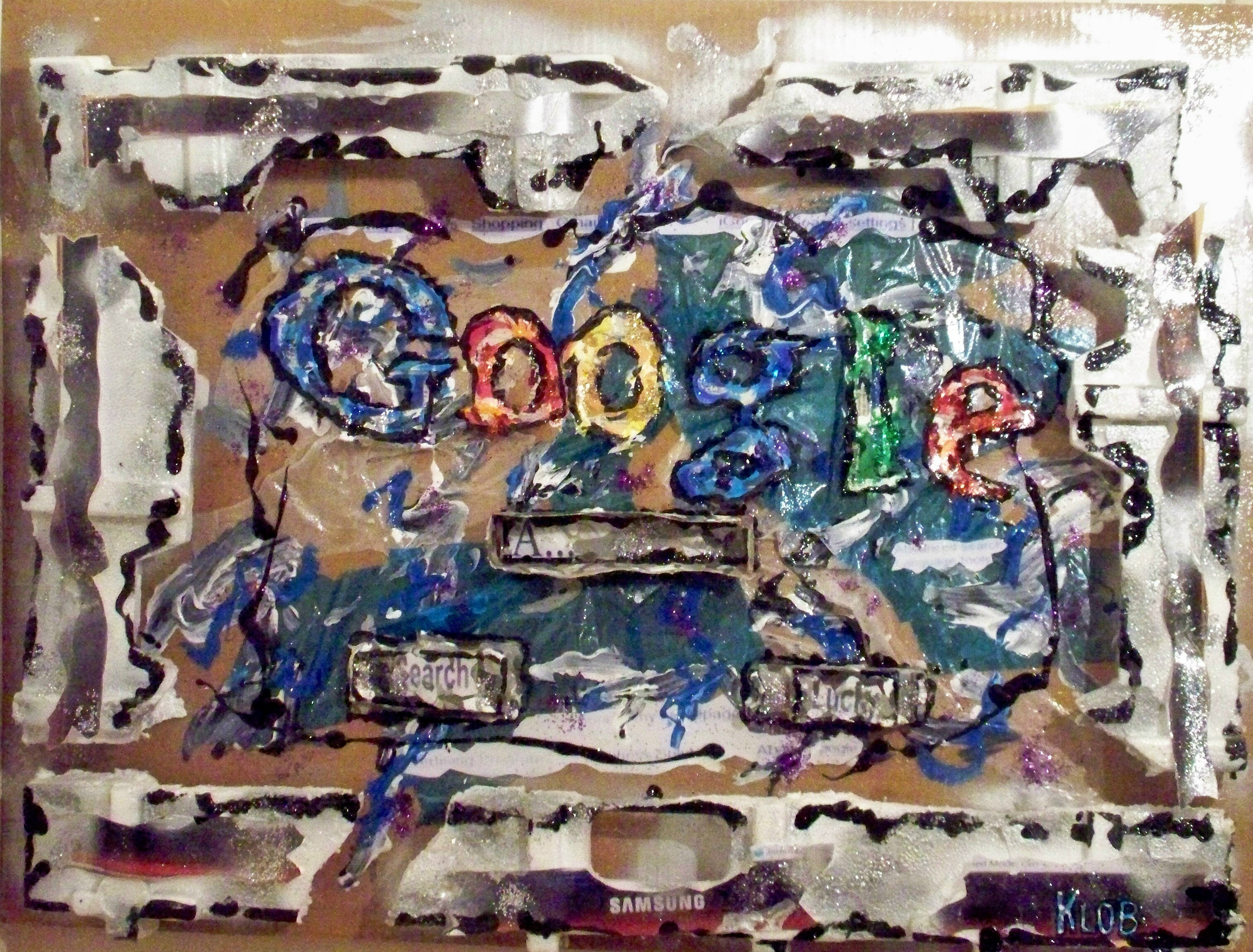 Google (on my computer screen)